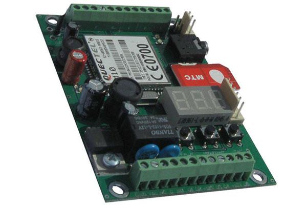 Внешний вид GSM модуля для охранной системы