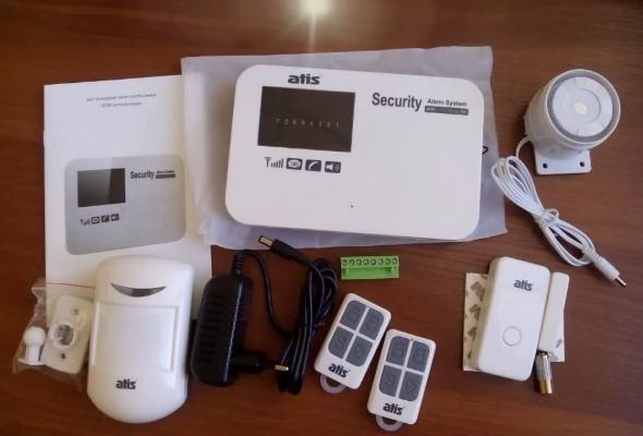 Комплект автономной сигнализации GSM