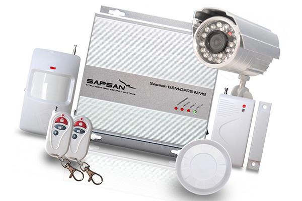 GSM сигнализация с видеокамерой Sapsan