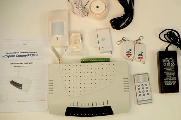GSM сигнализация Страж Сокол PROF