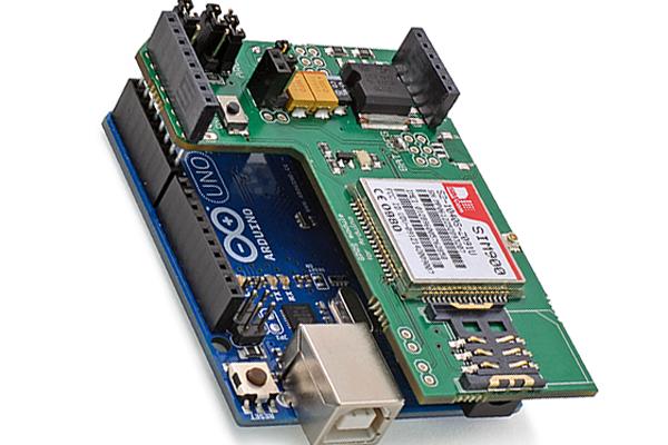 Arduino GSM модуль: внешний вид