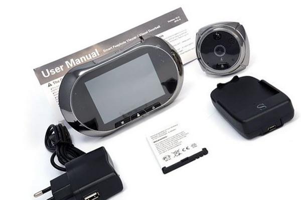 Видеоглазок GSM - полный комплект