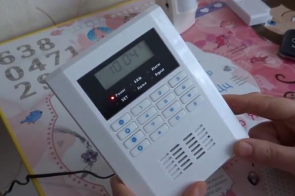 WiFi GSM сигнализация - внешний вид блока