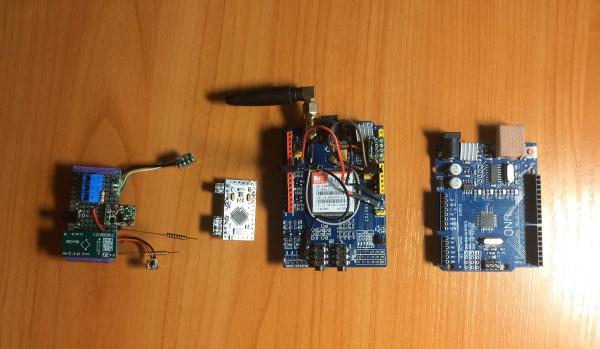 Модули для создания GSM сигнализации на Ардуино