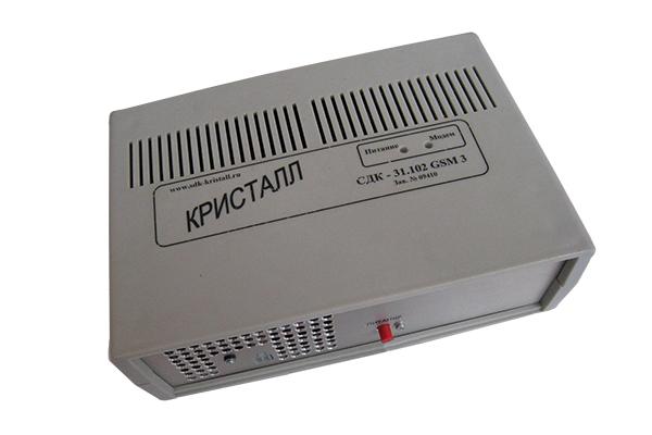 GSM сигнализация Кристалл - блок управления