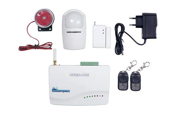 Сигнализация для офиса OPERA-GSM