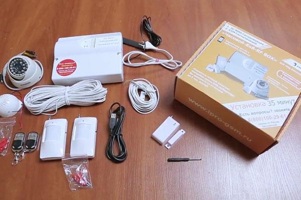 GSM сигнализация Часовой