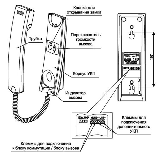 Подключить домофон самостоятельно схема