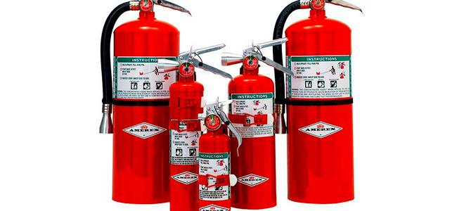 Хладоновые огнетушители: для каких целей применяются и технические характеристики устройства