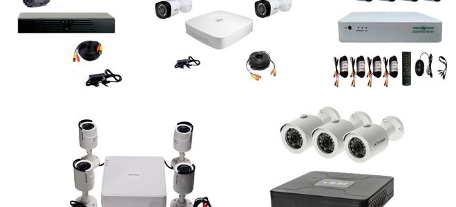Готовый комплект видеонаблюдения для улицы: рейтинг популярных уличных решений