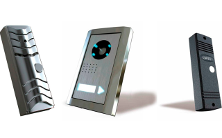 Вызывная панель видеодомофона: особенности конструкция и схемы подключения