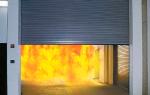 Противопожарные ворота: типы и конструктивные особенности устройств