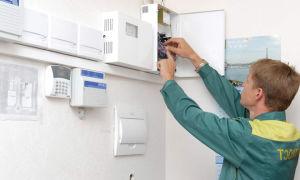 Установка охранной сигнализации: виды охранных систем, особенности установки
