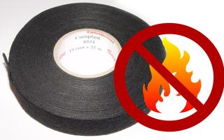 Термостойкая изолента: основные виды и применение материала