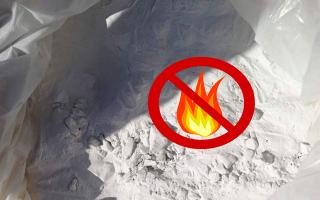 Огнетушащие порошки: типы, состав и другие важные характеристики веществ