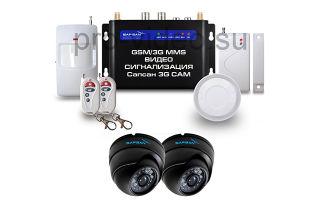 GSM сигнализация Sapsan GSM MMS 3G CAM: преимущества, параметры, функции
