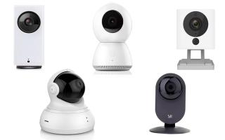 Камеры видеонаблюдения Xiaomi: обзор модельного ряда устройств