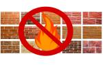 Огнеупорная плитка: классификация и предназначение строительного материала