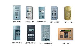 Домофон Визит: особенности конструкции и схема подключения устройств
