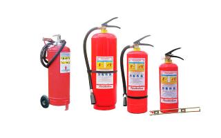 Основные виды и типы огнетушителей: принцип работы устройств пожарной безопасности