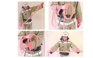 Вязка спасательной петли: основные способы и нормативы выполнения