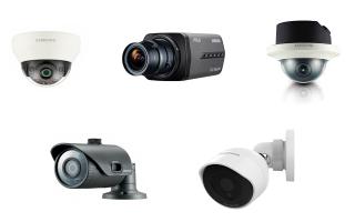 Камеры видеонаблюдения Hanwha Techwin: обзор модельного ряда и достоинства устройств