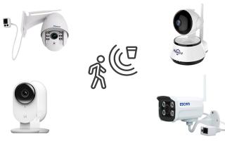 Камеры видеонаблюдения с датчиком движения: рейтинг актуальных моделей