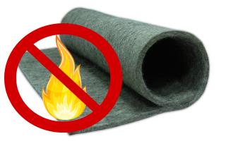 Огнеупорный войлок: основные виды и состав материала