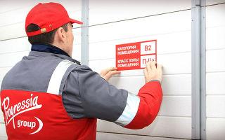 Описание классов пожарной опасности зданий