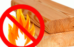 Огнезащита деревянных конструкций кровли: требования и сроки действия обработки