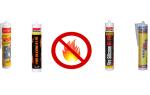Огнестойкие герметики: основные виды и места применения веществ