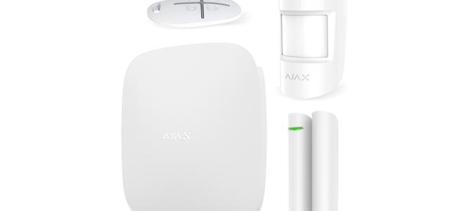 Комплект охранной сигнализации Ajax StarterKit: подробный обзор комплектации устройства
