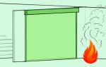 Противопожарные шторы: типы и самые важные критерии для выбора устройств