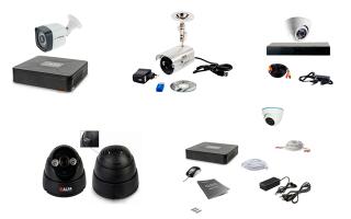 Готовый комплект видеонаблюдения на 1 камеру: рейтинг популярных решений для дома и дачи