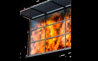 Противопожарные окна: виды и типы конструкций