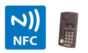 Как открыть домофон с помощью NFC