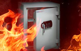 Противопожарный сейф: типы и критерии для выбора огнестойкого устройства