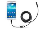 Гибкая камера для телефона: применение и выбор лучшего устройства