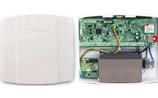 Контрольная панель Норд GSM: перечень компонентов, подключаемых к панели