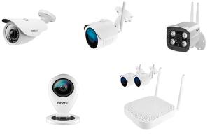 Системы и камеры видеонаблюдения Ginzzu: особенности тайваньских систем