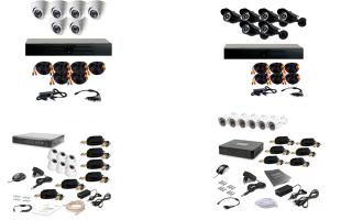 Готовый комплект видеонаблюдения на 6 камер: рейтинг лучших решений для дома и улицы
