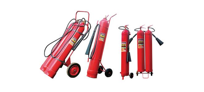Передвижные огнетушители: классификация устройств