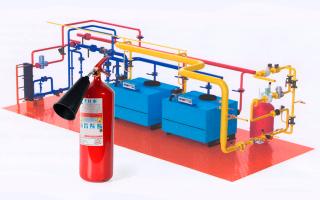 Огнетушитель в котельной: основные требования пожарной безопасности