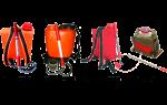Ранцевые огнетушители: основные виды и конструктивные особенности устройств