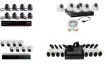 Готовый комплект видеонаблюдения на 8 камер: рейтинг лучших уличных и внутренних решений