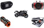 Видеорегистратор для мотоцикла: технические характеристики и лучшие модели 2019 года
