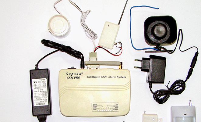 GSM сигнализация на дачу с камерой