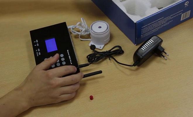 GSM сигнализация с контролем температуры