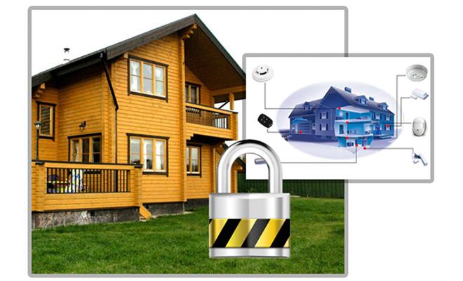 Системы безопасности загородного дома: виды охранных систем
