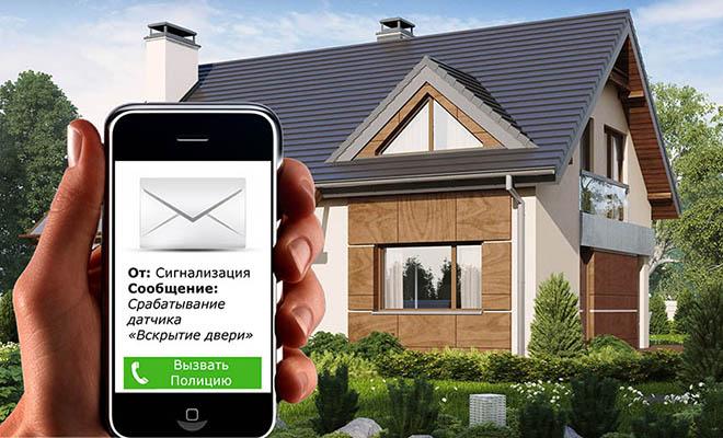 обои установить охрану на дом дизайна современной